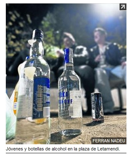 Aumentan las borracheras