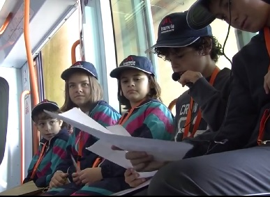 Leemos en el tranvía