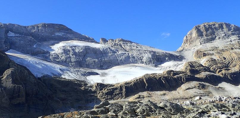 Bajo el glaciar perdido