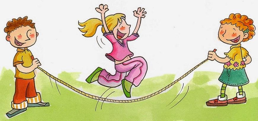 Saltando a la comba sin cuerda